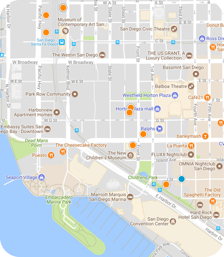 marina district map search