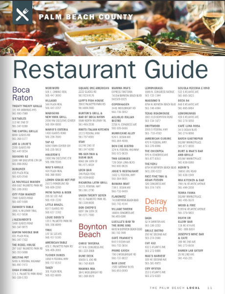 Thom And Rory Team Restaurant Guide