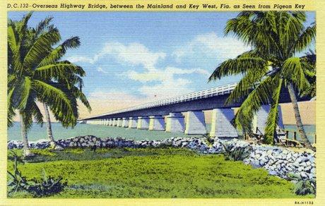 Overseas Highway Postcard