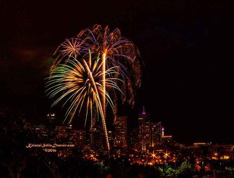 Denver 4th of July Celebration Fireworks