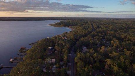 over Isle of Pines near Lake Nona Florida