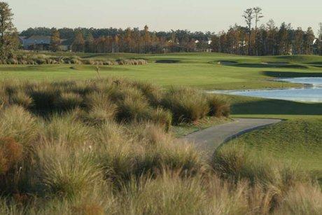 North Shore public golf course in Lake Nona