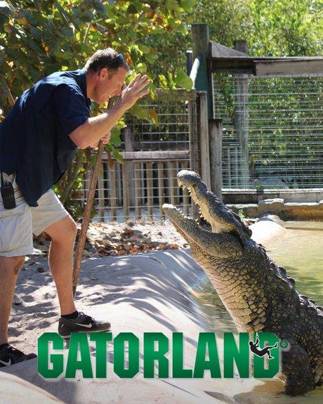 Gatorland in Orlando Florida