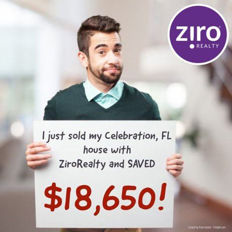 sell your home for no commission with ziro realty