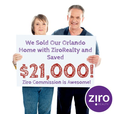 Sell Your Home with Ziro Realty & Save Thousands of Dollars