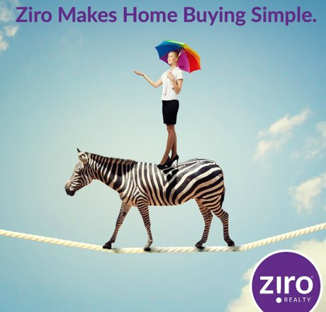 buy a home with ziro realty and get cash back at closing
