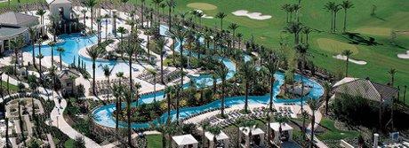 Omni Resort Pool Complex in Champions Gate Florida