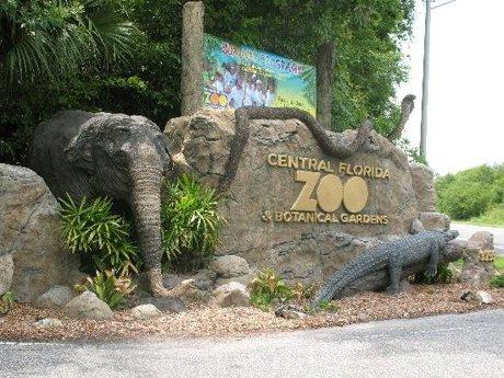 Central Florida Zoo in Sanford Florida