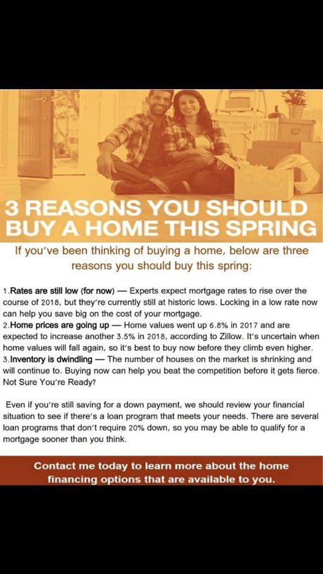 3 reasons to buy a house this spring