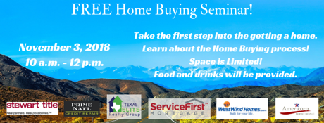 Laredo Real Estate Home Buying Seminar