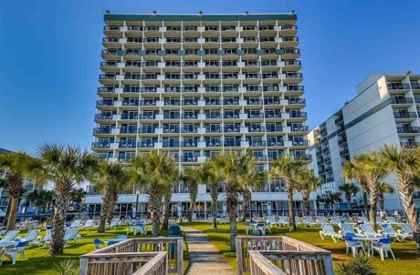 Boardwalk Oceanfront Tower Myrtle Beach