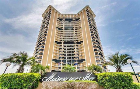 Maisons-sur-Mer Condos For Sale | Myrtle Beach Oceanfront Condos