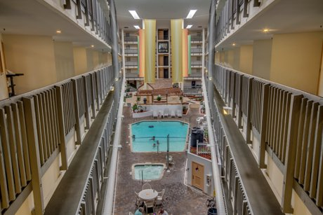 Indoor Pool at Myrtle Beach Resort