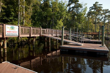 Cypress River Plantation Day Docks