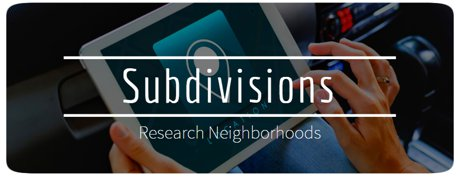 South Bend Neighborhoods and Subdivisions