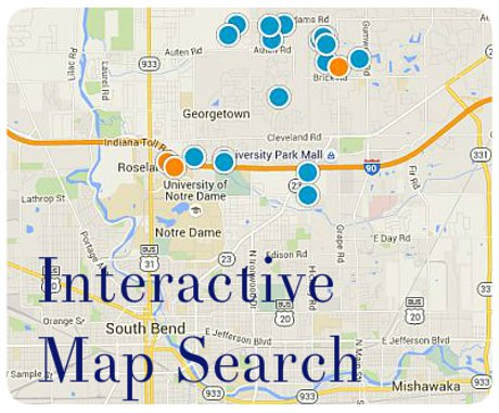 New Homes Search Map