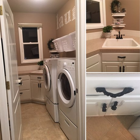 Laundry Room Facelift in Our Fort Collins Home: Real Estate an Lifestyle in Northern Colorado, a blog by Joanna Gyrath, Fort Collins Realtor