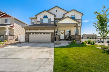 Home for sale in the Ridge at Harmony Road in Windsor, Colorado: 5423 Clarence Dr by Ben and Joanna Gyrath, the Gyrath Realty Group