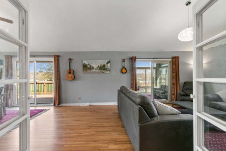 Home for sale in Loveland, Colorado with views of the foothills and Devil's Backbone