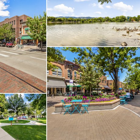 Old Town Plaza, Library Park, City Park Fort Collins, Condo for sale in Old Town Fort Collins! 301 Peterson St Unit 205, Fort Collins, CO 80524