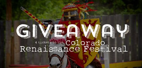 Colorado Renaissance Festival Ticket Giveaway! Things to do in Northern Colorado, Real Estate and Lifestyle in Northern Colorado, a blog by Joanna Gyrath, Fort Collins Realtor