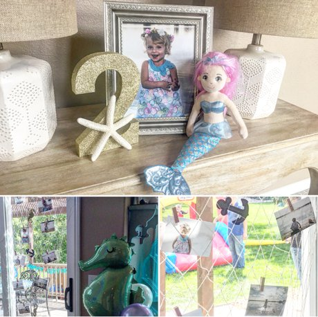 A Mermaid Themed Birthday Party in Our Fort Collins Home
