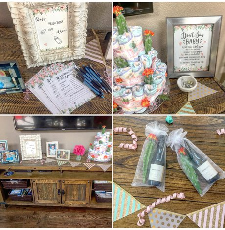 A Cactus Flower Baby Shower in Fort Collins, entertaining, family, northern colorado baby, western baby shower | Real Estate and Lifestyle in Northern Colorado, a blog by Joanna Gyrath, Fort Collins Realtor