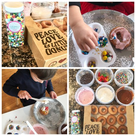 """""""Donut Grow Up""""   A child's birthday party at our Fort Collins home"""