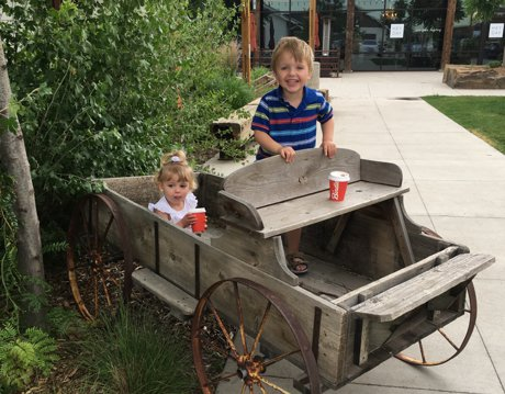 Bindle Coffee at Jessup Farm Artisan Village, Colorado- Favorite things to do with kids in Northern Colorado! | Real Estate and Lifestyle in Northern Colorado, a blog by Joanna Gyrath, Fort Collins Realtor