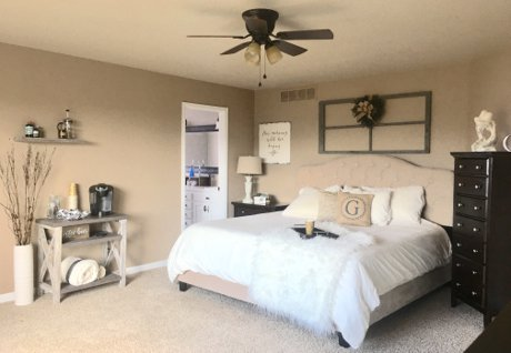 My Perfectly Imperfect Farmhouse Inspired Master Bedroom Update |  Decor, Home Staging, Interior Design, Fort Collins, Loveland, Windsor, Greeley | Real Estate and Lifestyle in Northern Colorado, a blog by Joanna Gyrath, Realtor