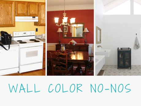 Bad wall paint colors