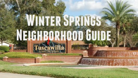 Winter Springs Neighborhood Guide