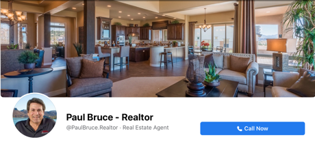 Paul Bruce - Realtor Facebook