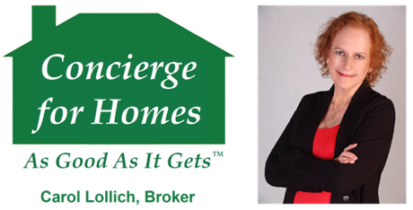Carol Lollich, Broker, Concierge for Homes