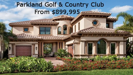 Parkland Gold & Country Club Homes for Sale