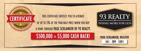 Real Estate Buyer Rebate