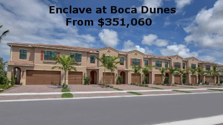 Enclave at Boca Dunes Homes for Sale
