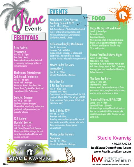 Local Events June 2019