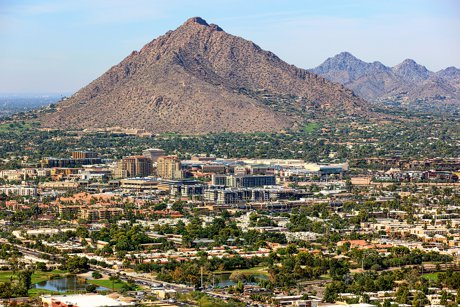 View Cameback from Scottsdale Mountain Real Estate and Homes