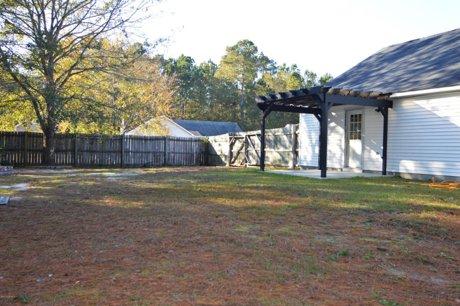 10003 Burning Bush Ridge Court Backyard