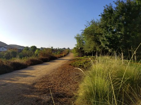 Sierra Heights, Sierra Estates - Riverside CA - walking trail