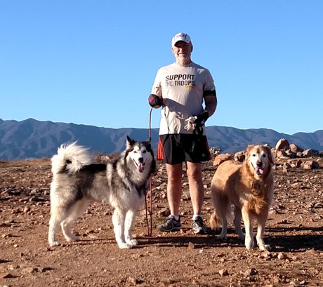 Don and his running buddies