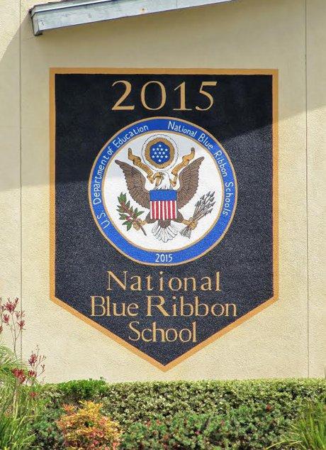 Lake Mathews Elementary School - Blue Ribbon Award