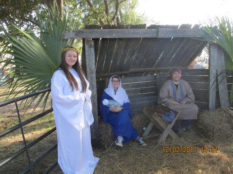 Rob Brooks Realty Live Nativity