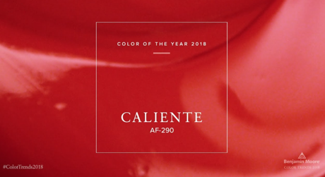 2018 Color of the Year: Caliente