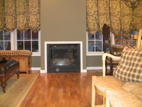 Many of the units have fireplaces Versailles at Nanuet Townhouses and Condos in Rockland County NY 10954