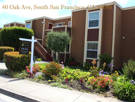 40 Oak Ave, South San Francisco Condo For Sale