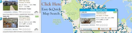 Map Search San Mateo County Homes for sale