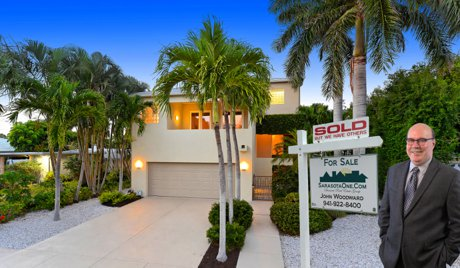 338 S. Washington Dr Sold by John Woodward on St. Armand's Circle in Sarasota is for Sale