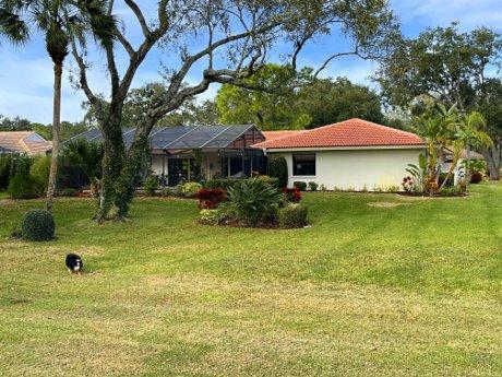 4940 Rutland Gate in The Meadows - Sarasota, FL 34235 Rear of the home